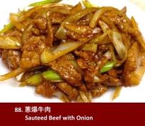 Sauteed Beef w/ Onion