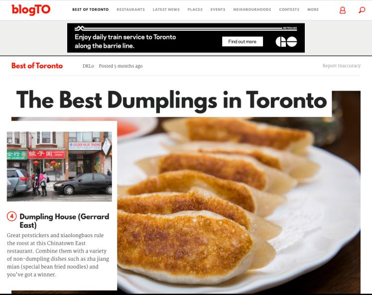 blogto best dumpling